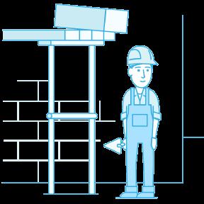 Ehituskindlustus illustratsioon